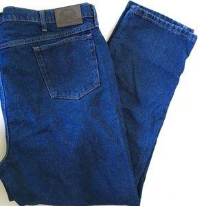 Cabela's Men's 48X32 Blue Straight Classic Jeans